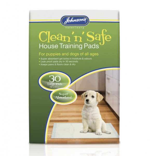 Johnsons House Training Puppy Pads (30pk)