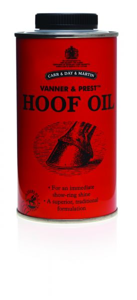 Carr Day Martin Vanner & Prest Hoof Oil