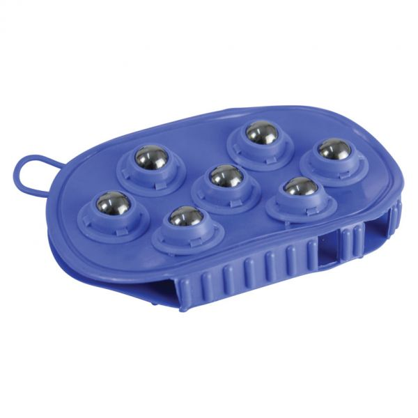 HySHINE Rubber Massage Mitt Colour: Blue