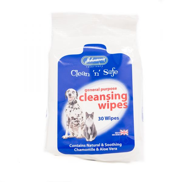 Johnsons Clean 'n' Safe Wipes
