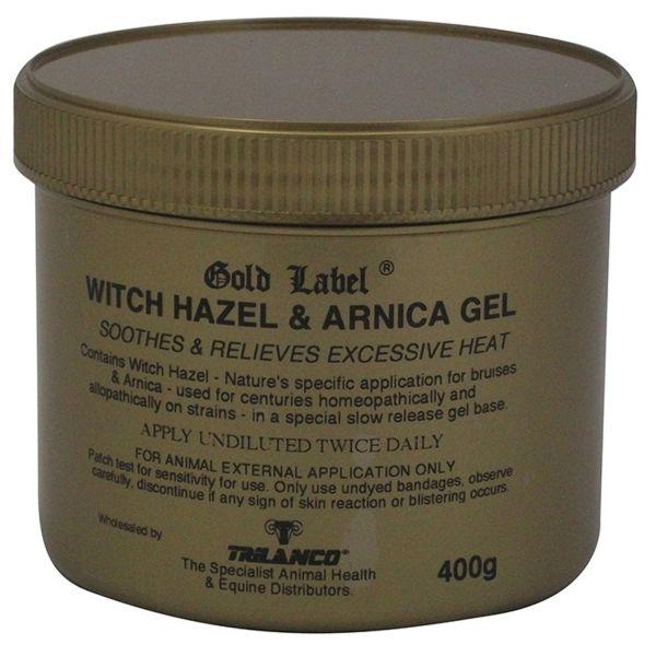 Gold Label Witch Hazel & Arnica Gel - 400 Gm