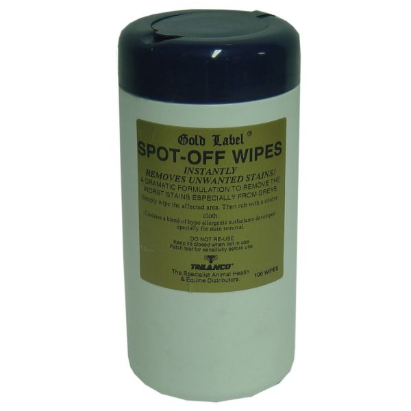 Gold Label Spot-Off Wipes - 100 Pack