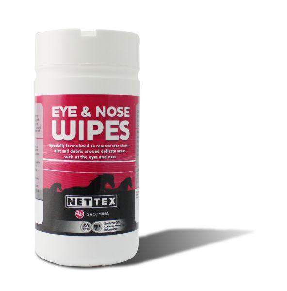Nettex Eye & Nose Wipes 50 pack