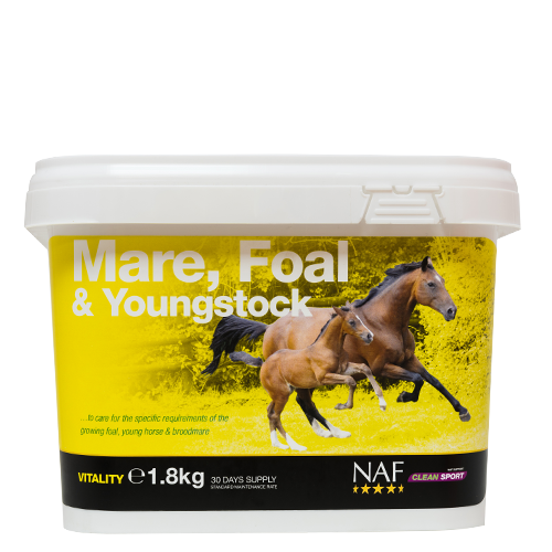 NAF Mare Foal & Youngstock 1.8kg Size: 1.8kg