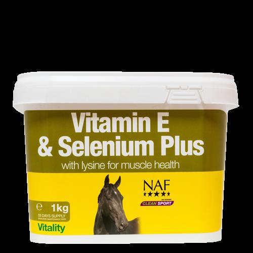 NAF Vit E & Selenium Plus