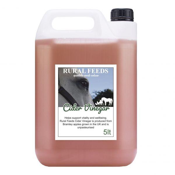 Rural Feeds Cider Vinegar 5ltr