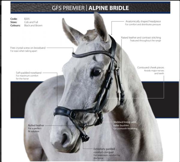 GFS Premier Alpine Bridle