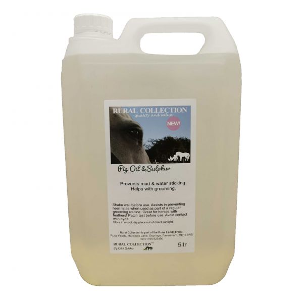 Rural Collection Pig Oil & Sulphur 5ltr