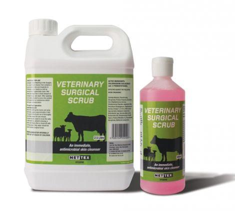 Nettex Veterinary Surgical Scrub 500ml