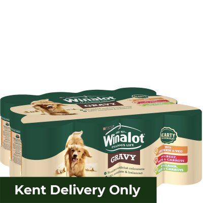 Winalot Hearty Adult Meat In Gravy 12X400G