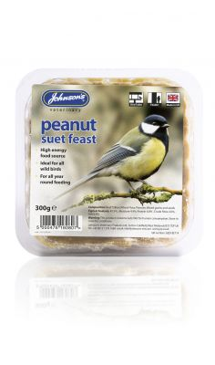 Johnsons Wild Bird Suet Tray Peanut