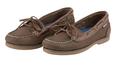 Dublin Millfield Arena Boat Shoes Brown Chestnut