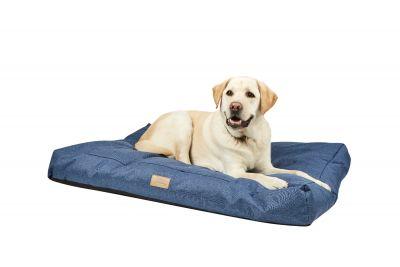 Weatherbeeta Pillow Denim Dog Bed Blue
