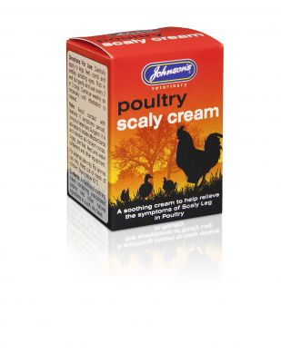Johnsons Poultry Scaly Cream 50g
