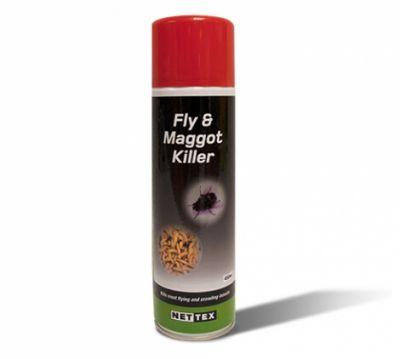 Nettex Fly and Maggot Killer Aerosol 450ml