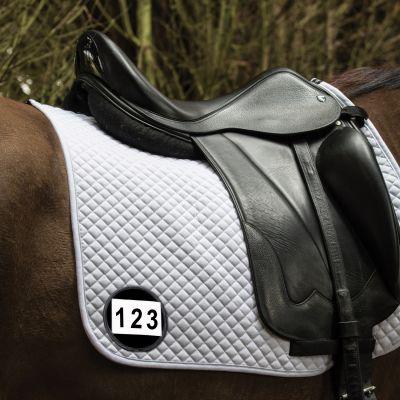Saddle Cloth Number Holder Single