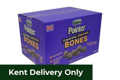Pointer Charcoal Enriched Bones 10kg