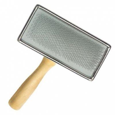 Petface Wooden Slicker Brush Medium