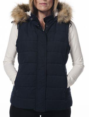 Hunter Fur Trim Ladies Gilet