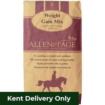 Allen & Page Weight Gain