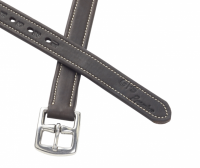 GFS Premier Stirrup Leathers with Matching Stitching