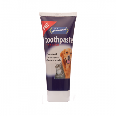 Johnsons Beef Flavour Toothpaste Size: 50g