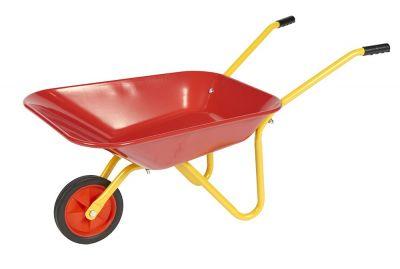 Junior Steel Wheelbarrow Colour: Red