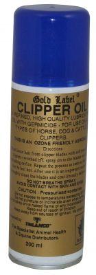 Gold Label Clipper Oil Aerosol - 200 Ml