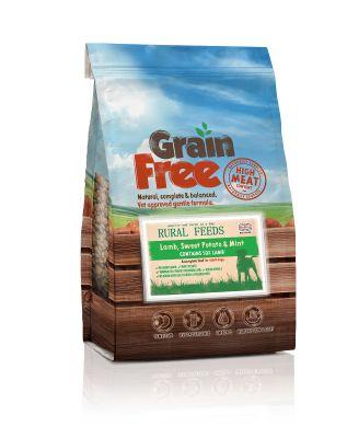 Rural Feeds Grain Free Lamb & Mint 2kg