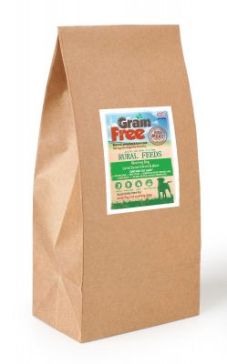 Rural Feeds Grain Free Lamb & Mint 15kg