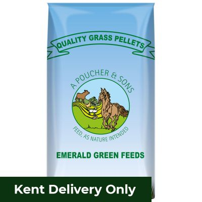 Grass Pellets Emerald Green