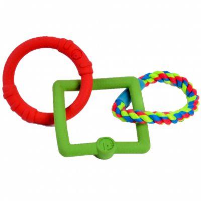 Petface Toyz Triple Tug Ring Small