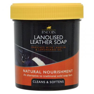 Lincoln Lanolised Leather Soap Size: 400g