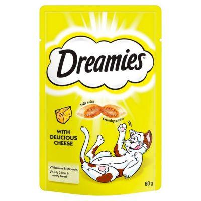 Dreamies Cat Treat Cheese 60g