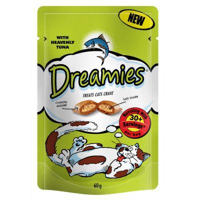 Dreamies Cat Treat Tuna 60g