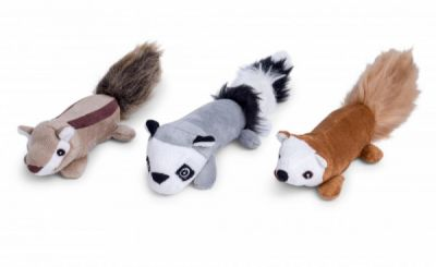 Petface Furry Sticks Chip/Rac/Squirrel Small