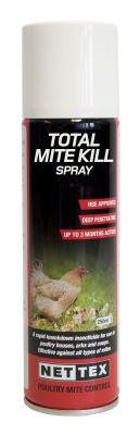 Nettex Total Mite Spray (aerosol) 250ml