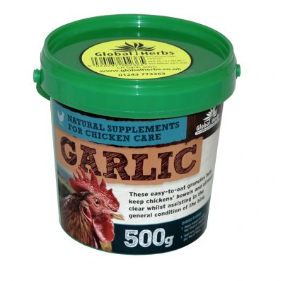 Global Herbs Poultry Garlic Granules