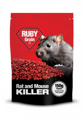 Ruby Grain Rat Bait