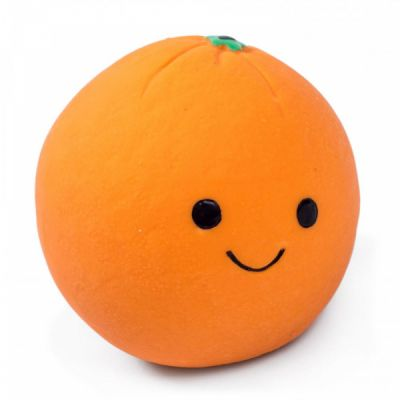 Petface Foodie Faces Latex Orange