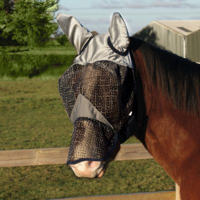 Legacy Rip Stop Fly Mask with Ears and Nose
