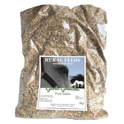 Rural Feeds 3kg Garlic Granules