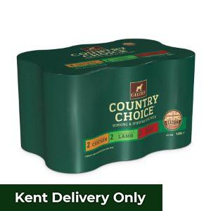 Gelert Country Choice Working Variety Pack Tins (6 Pack)