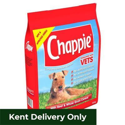 Chappie Complete Beef & Wholegrain Cereal Dry 15kg