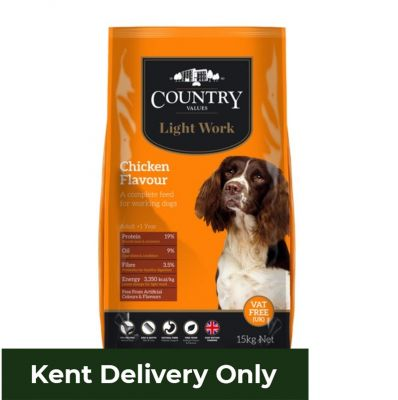 Country Values Light Work Chicken 15kg