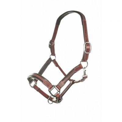 HKM Leather Head Collar