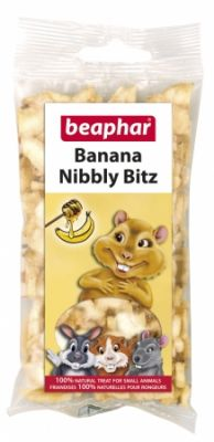 Beaphar Banana Nibbly Bitz 50g