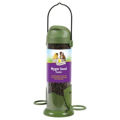 Harrisons Flip Top Nyger Seed Feeder 22cm