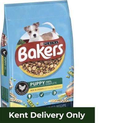 Bakers Puppy Chicken & Veg 12.5kg