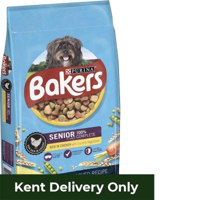 Bakers Senior Chicken & Veg 12.5kg
